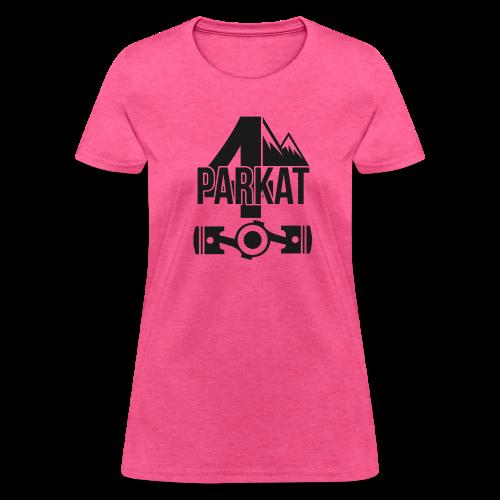 4Parkat FlatEngine - Women's T-Shirt