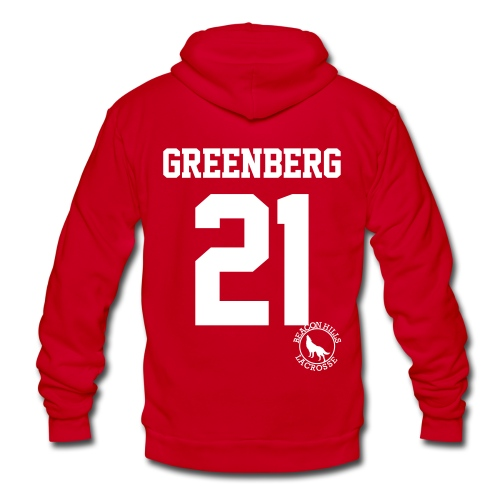 Greenberg 21 - Zip-up (S Logo) - Unisex Fleece Zip Hoodie