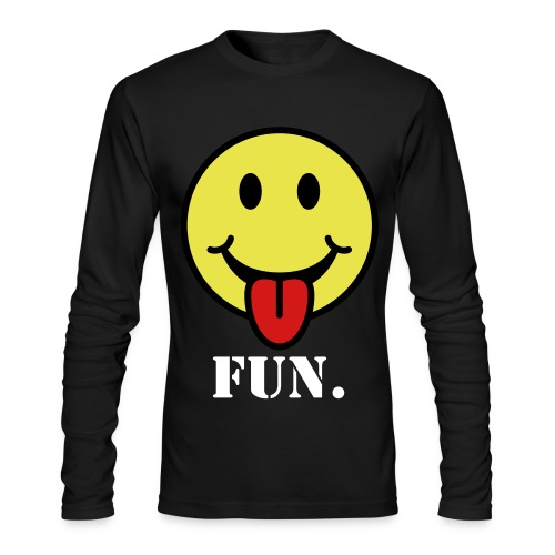 Men Standard FUN SWEATER - Men's Long Sleeve T-Shirt by Next Level
