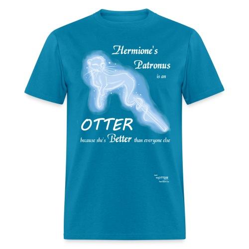 Hermione's Patronus-Blue - Men's T-Shirt