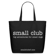 Bags & backpacks ~ Eco-Friendly Cotton Tote ~ small club small bag