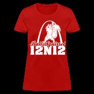 T-Shirts ~ Women's T-Shirt ~ Cardinals Rally Squirrel - 12 in 12 Women Tee Shirt