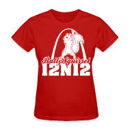 Women's T-Shirts ~ Women's T-Shirt ~ Cardinals Rally Squirrel - 12 in 12 Women Tee Shirt