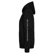 Zip Hoodies & Jackets ~ Unisex Fleece Zip Hoodie by American Apparel ~ small club's signature hoodie