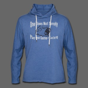 One Does Not Simply Play One Gamer of Euchre - Unisex Lightweight Terry Hoodie