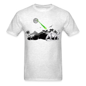 Dinosaur Extinction by Death Star - Men's T-Shirt