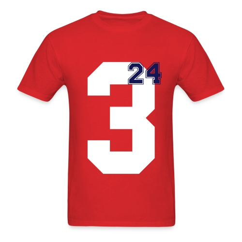 blue 24 - Men's T-Shirt