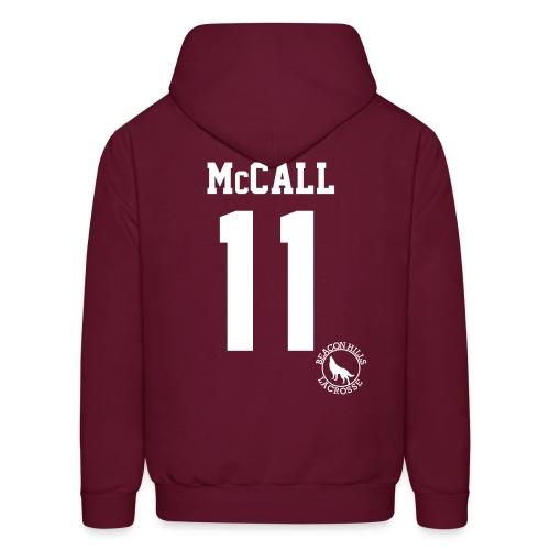 McCALL 11 - Hoodie (XL Logo +S) - Men's Hoodie