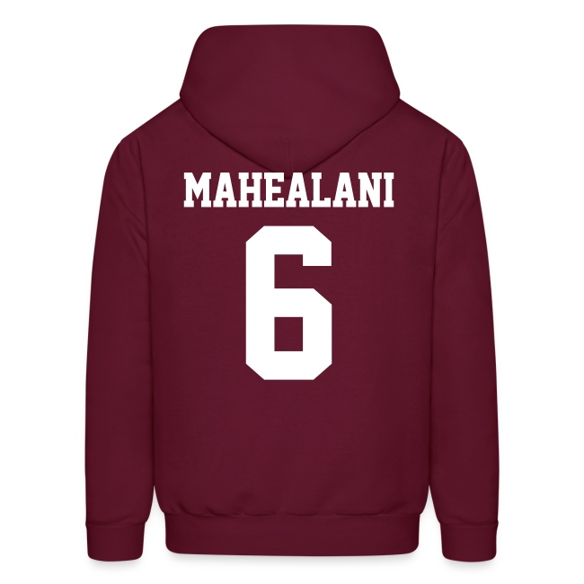 """MAHEALANI 6"" - Hoodie (XL Logo, NBL)"