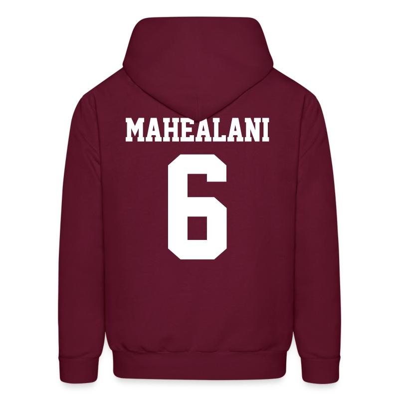 MAHEALANI 6 - Hoodie (XL Logo, NBL) - Men's Hoodie