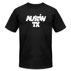 Austin TX T-Shirt - Men's T-Shirt by American Apparel