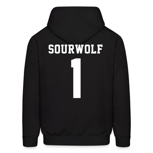 SOURWOLF 1 - Hoodie (S Logo, NBL) - Men's Hoodie