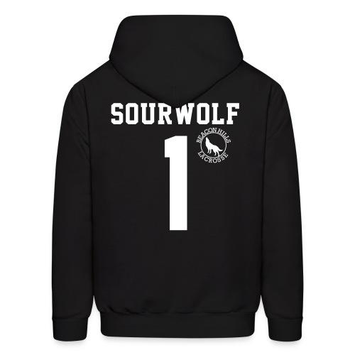 SOURWOLF 1 - Hoodie (XL Logo +S) - Men's Hoodie