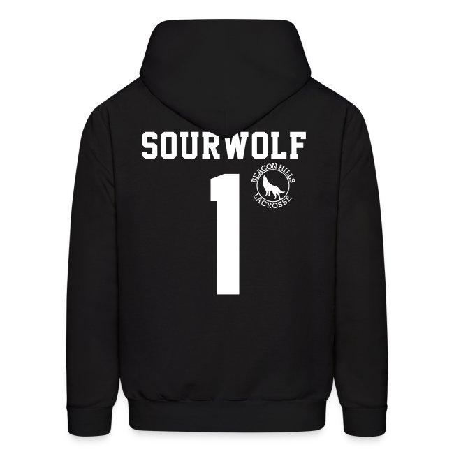 """""""SOURWOLF 1"""" - Hoodie (XL Logo +S)"""