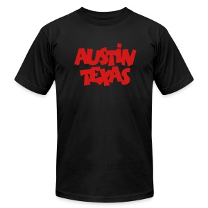 Austin Texas T-Shirt - Men's T-Shirt by American Apparel