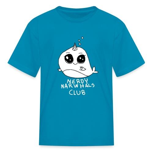 Nerdy Narwhals Club - Kids Shirt - Kids' T-Shirt