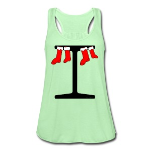 I-Beam Christmas Stockings - Women's Flowy Tank Top by Bella