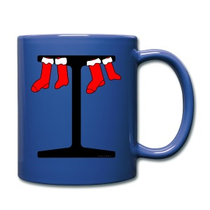 I-Beam Christmas Stockings - Full Color Mug