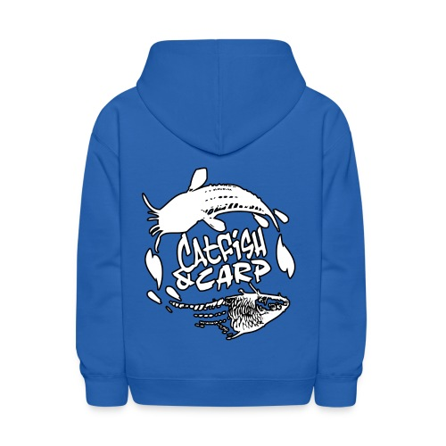 KIDS Hoodie - Cats and Carp Logo - Kids' Hoodie