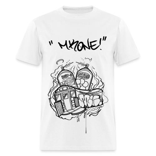 MKONE Subway Black - Men's T-Shirt