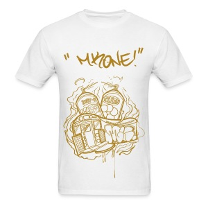 MKONE Subway Gold - Men's T-Shirt