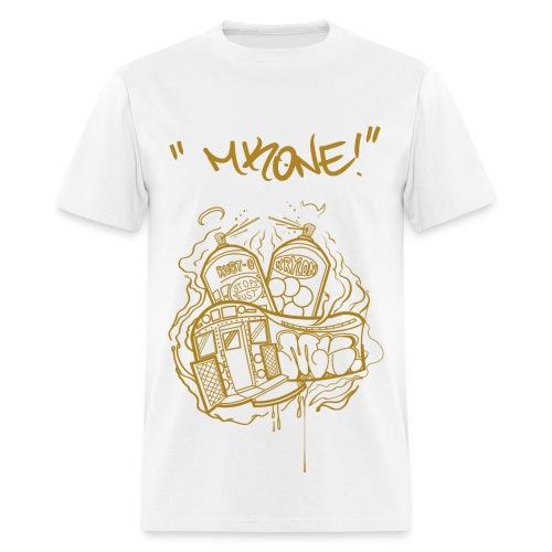 MKONE Subway Gold - Men's T-Shirt