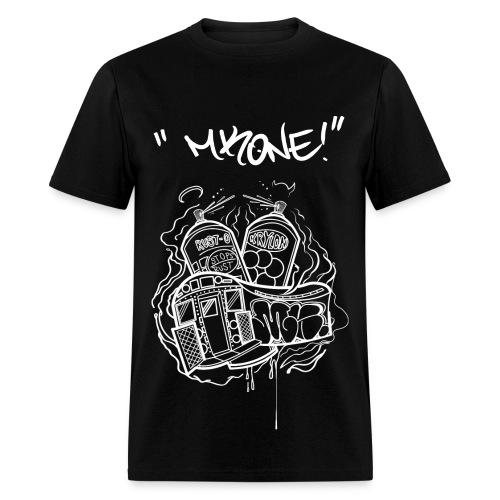 MKONE Subway White - Men's T-Shirt