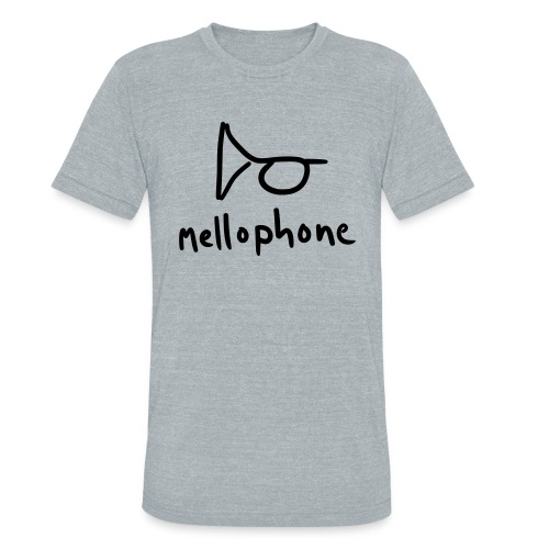 mellophone (grey tri-blend) - Unisex Tri-Blend T-Shirt