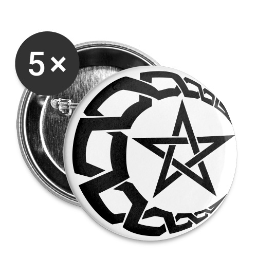 5 islam buttons - Large Buttons