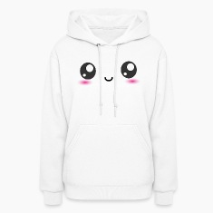 Kawaii Smiley Happy Face Hoodies