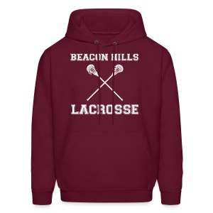 Beacon Hills Lacrosse Plain Front - Men's Hoodie