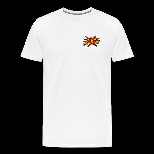 Logo Patch Premium - Men's Premium T-Shirt