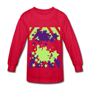 Blast Off - Kids' Long Sleeve T-Shirt