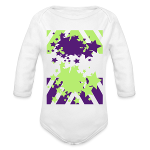 Blast Off - Long Sleeve Baby Bodysuit
