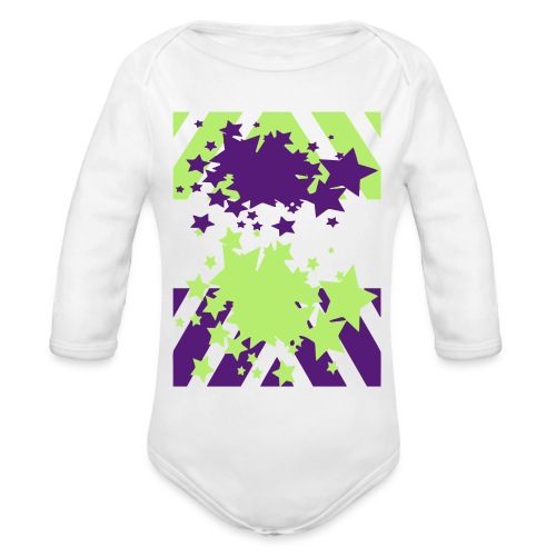 Blast Off - Organic Long Sleeve Baby Bodysuit