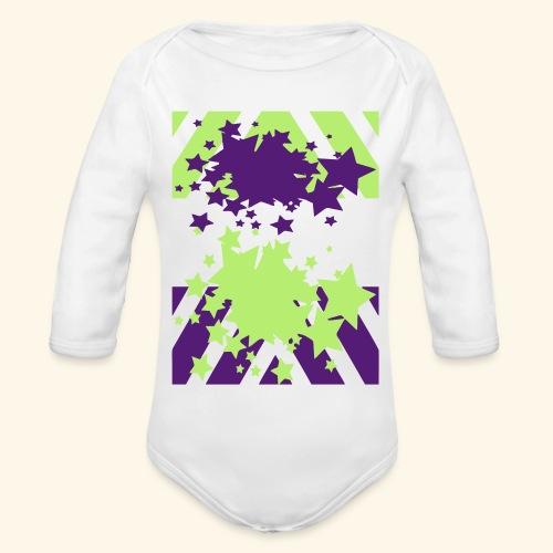 Blast Off - Organic Long Sleeve Baby Bodysuit