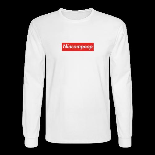 Nincompoop Supreme - Men's Long Sleeve T-Shirt