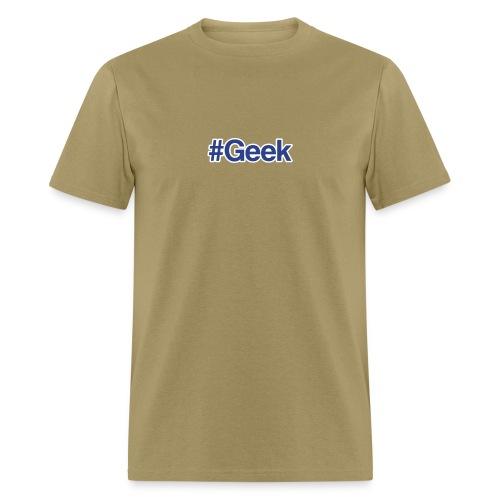 Hashtag Geek T-shirt - Men's T-Shirt