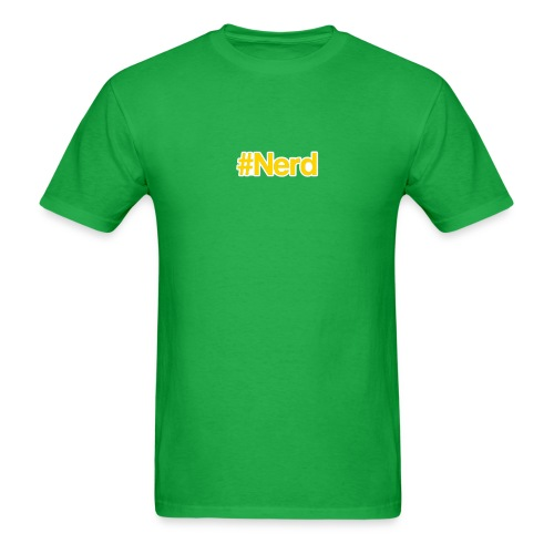 Hashtag Nerd T-shirt - Men's T-Shirt