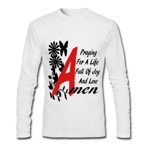Praying for a life.... - Men's Long Sleeve T-Shirt by Next Level