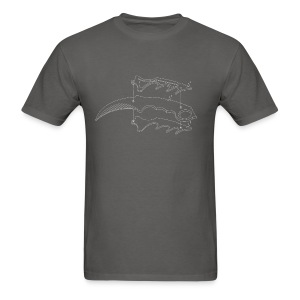 Karambit Line Drawing - Men's T-Shirt