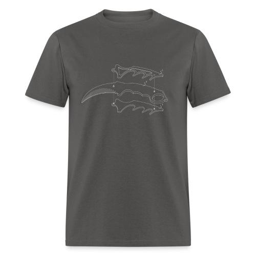 Karambit Line Drawing - Men's T-Shirt