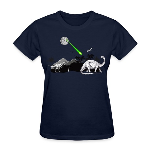 Extinction by Death Star - Women's T-Shirt