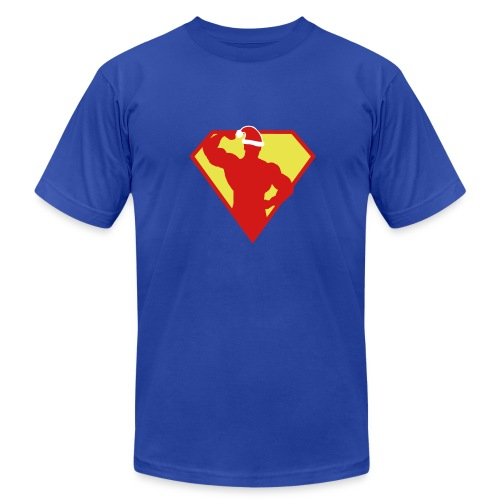 Xmas Super FIT Man - Men's Fine Jersey T-Shirt