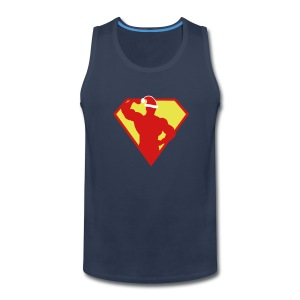 Xmas Super FIT Man - Men's Premium Tank