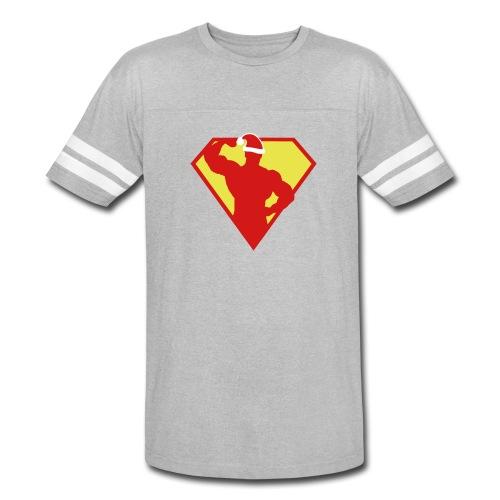 Xmas Super FIT Man - Vintage Sport T-Shirt