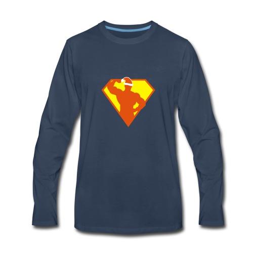 Xmas Super FIT Man - Men's Premium Long Sleeve T-Shirt