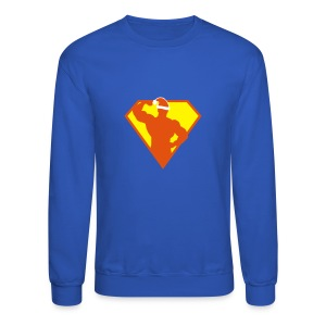 Xmas Super FIT Man - Crewneck Sweatshirt