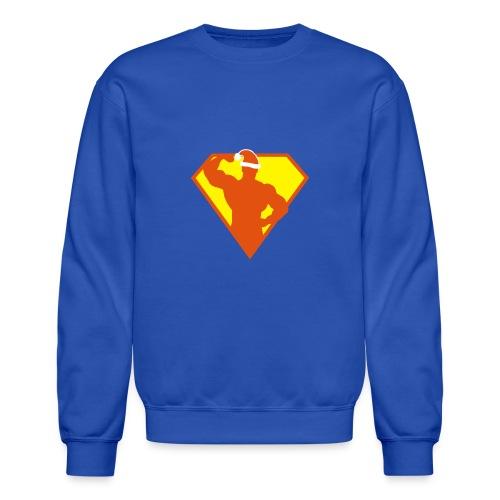 Xmas Super FIT Man - Crewneck Sweatshirt
