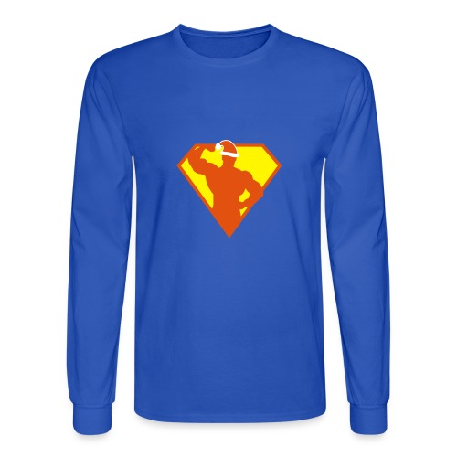 Xmas Super FIT Man - Men's Long Sleeve T-Shirt